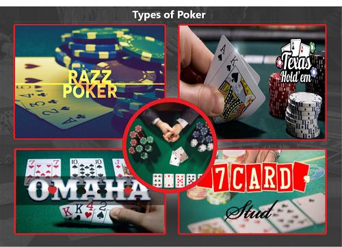 Online Poker Variations