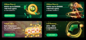 ozwin casino bonuses