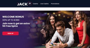 jack 21 casino homepage