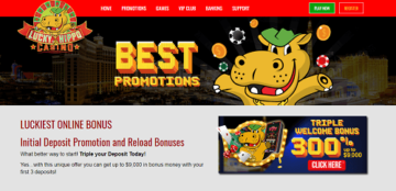 lucky hippo bonuses