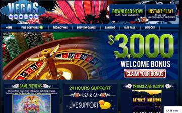 vegas casino online homepage