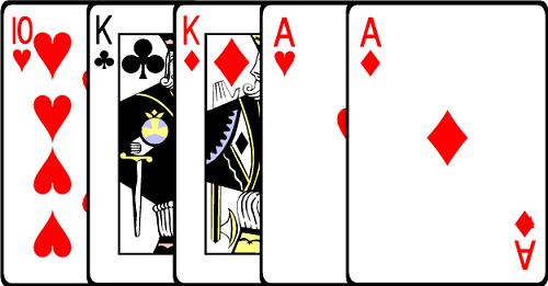 Two Pair Poker Hand