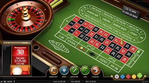 roulette rules