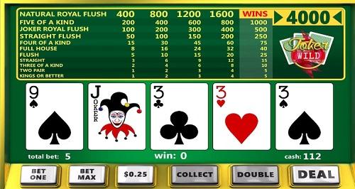 Online Video Poker Rules
