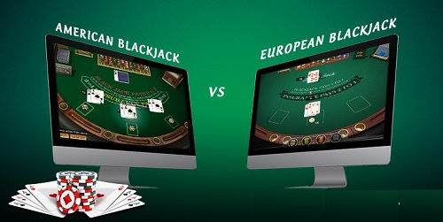 american vs european blackjack